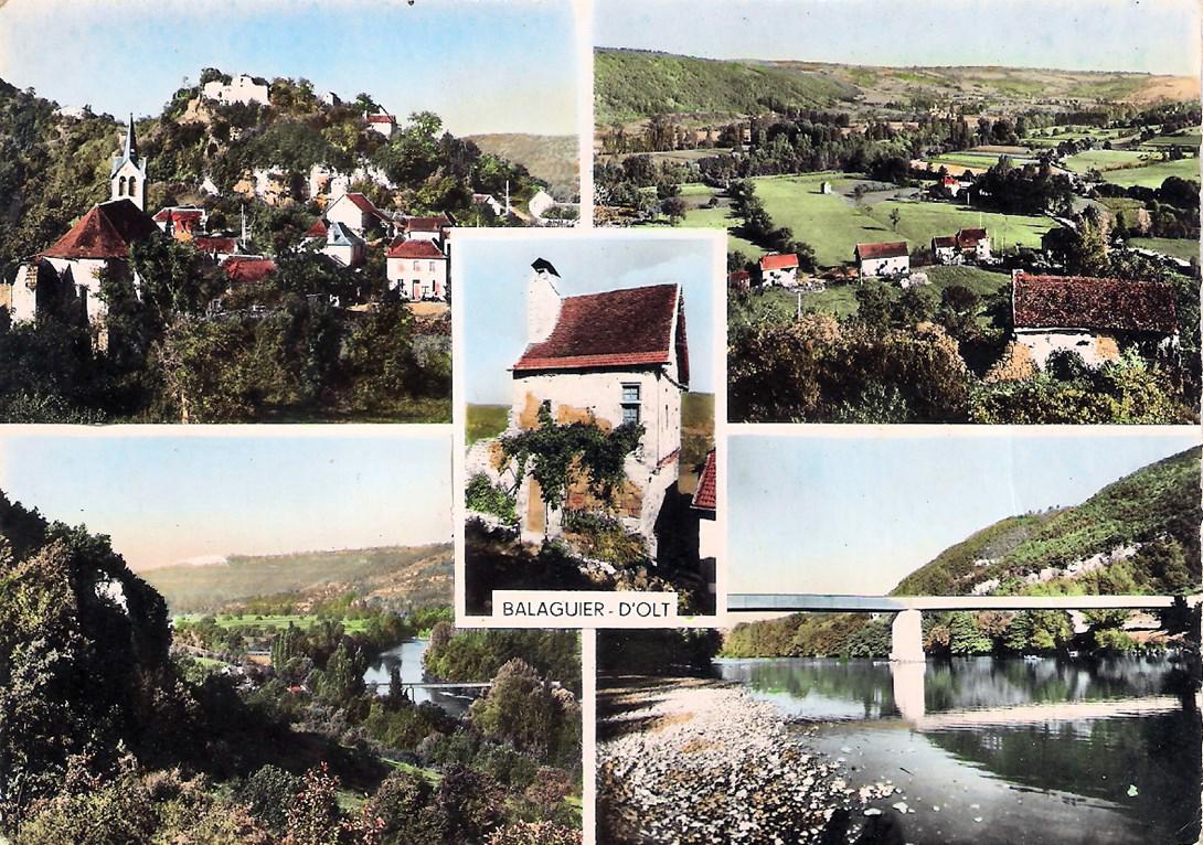 Carte postale 1960