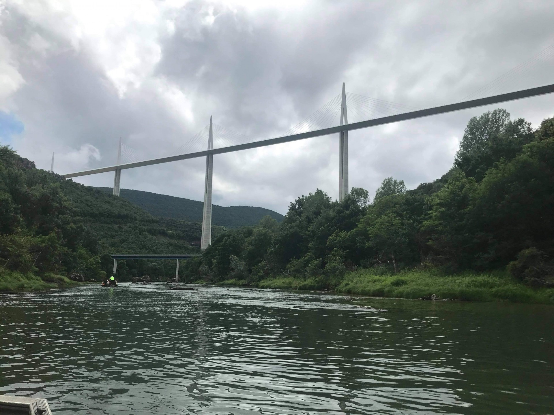balade en barque sur le Tarn